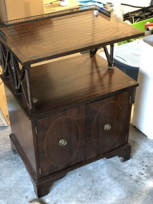 Antique night stand (I have the missing leg) for Sale in Bellaire, TX