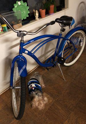 New bike SCHWINN LEGACY BLUE WHITE STRIPES for Sale in Bailey's Crossroads, VA