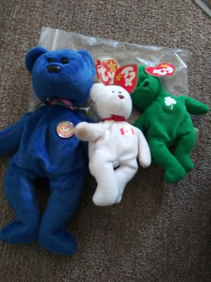 Rare. beanie babies with highly rare version tags for Sale in Wichita, KS