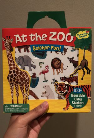 Zoo stickers and fold out scenes for Sale in Houston, TX