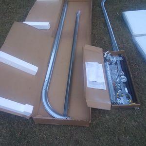 Garage door panels(6) w/ tracks and hardware for Sale in Woodstock, GA