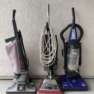 Vacuums! Working! Kirby Turbo, Quick Sanitaire, Bissell Powerforce Bagless . for Sale in Modesto, CA