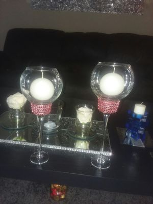 Candle holders 2pc set for Sale in Bellevue, IL