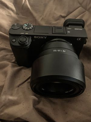 Sony alpha 6400 camera+lenses+tripod for Sale in Springfield, MA