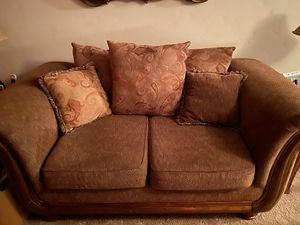 Living Room Couch with chair and Ottoman for Sale in San Ramon, CA