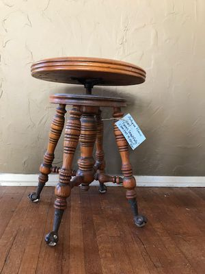 Antique Piano Stool - $250 for Sale in Huntington Beach, CA