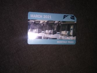 March Monthly Buspass for Sale in Providence,  RI