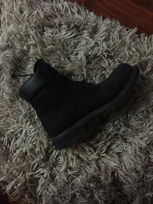 Black Timberlands size 8.5 for Sale in San Jose, CA