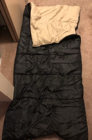 Black sleeping bag, never used for Sale in Seattle, WA