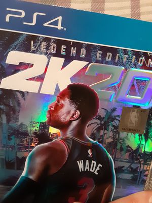 2K20 Legend Edition for PS4 for Sale in Nowthen, Minnesota