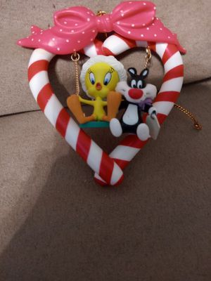 Christmas ornament Tweety Bird and Sylvester for Sale in Oakdale, CA