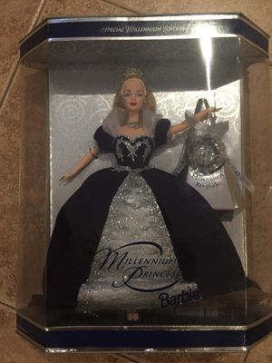 millennium princess barbie doll collectors vintage new for Sale in Upland, CA