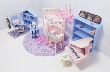 Dollhouse Miniature Baby Room Furniture & Accessories for Sale in Rancho Santa Margarita, CA