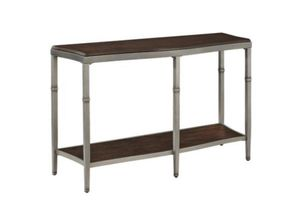 Metal and Wood Console Table for Sale in Boston, MA