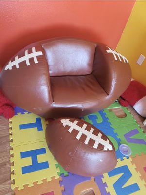 Kids Football Swivel Barrel Chair (2 pc) for Sale in East Wenatchee, WA