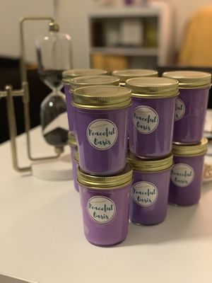 8 oz. Handmade Soy Candles! $5each for Sale in Alexandria, VA