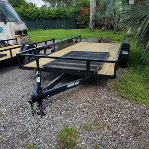 7 X 16 TA NEW UTILITY TRAILER 2021 for Sale in Miami, FL