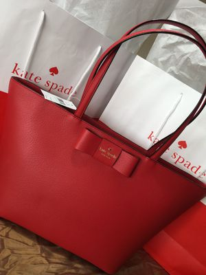 Brand New Kate Spade Red Purse Authentic $185 for Sale in Phoenix, AZ