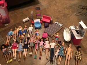 Barbie doll lot for Sale in Blaine, MN