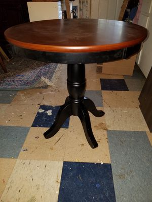 Brand New Regency Cherry/Black Solid Wood Coffee Table. (Already Assembled) MSRP$210. for Sale in Danville, VA