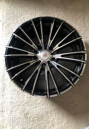 Silver and black rims for Sale in Antioch, CA