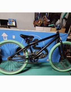 "BMX Bike 24"" Teal And Black. Custom Build for Sale in San Jose,  CA"
