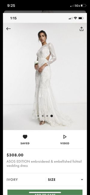 ASOS Wedding Dress for Sale in Los Angeles, CA
