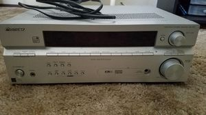 Stereo receiver dvd vhs player for Sale in Poway, CA