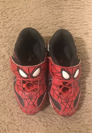 Kids Spider-Man shoes size 11 for Sale in Washington, DC