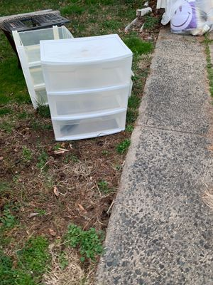 3 drawer plastic organizer for Sale in Edison, NJ