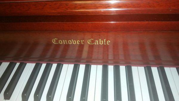 Upright piano (Conober cable)