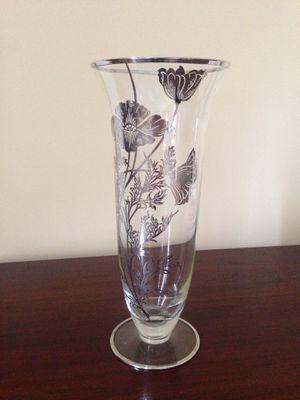 Vintage silver overlay flower vase for Sale in Washington, DC
