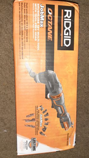 Ridgid Octane Brushless 18V Multi-Tool with Tool-Free Head for Sale in Baltimore, MD