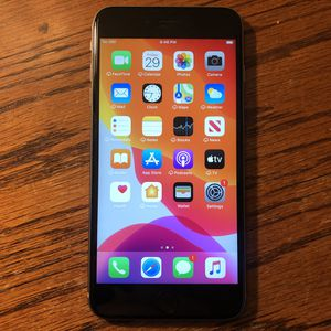 iPhone 6s Plus Carrier Unlocked 128GB Black/Gray iCloud Clear Clean IMEI for Sale in Fresno, CA