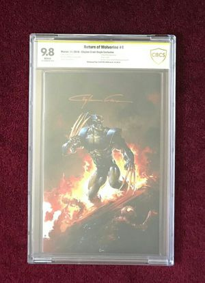 Return of Wolverine #1 signed and graded comic book for Sale in Fort Washington, MD