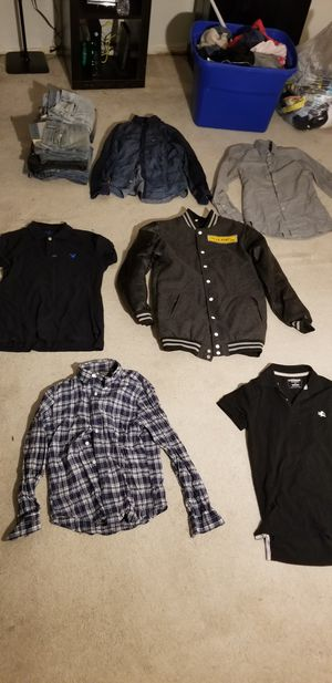 Mens Clothes (Abercrombie/American Eagle, H&M) for Sale in Dallas, TX