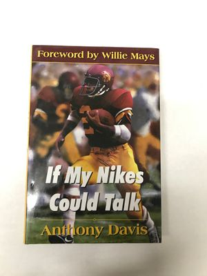 Anthony Davis Signed Book Autobiography Auto for Sale in Torrance, CA