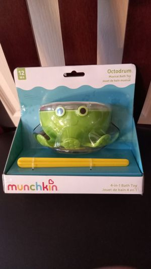 Munchkin Octodrum musical bath toy for ages 12 month+ for Sale in Henderson, NV