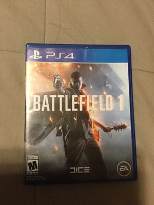 Battlefield 1 for PS4 for Sale in Christiansburg, VA