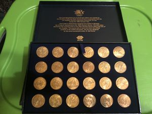 2 complete sets 1984 LOS Angeles summer olympics coin set for Sale in Los Angeles, CA