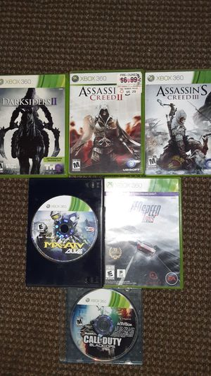 Xbox 360 Games (5 Games) for Sale in Big Bear Lake, CA