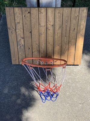 Custom made basketball hoop/backboard for Sale in Atwater, CA