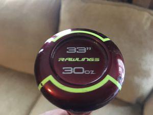 """Baseball Bat - Rawlings Velo 33"""" 30 oz for Sale in Mount Juliet, TN"""