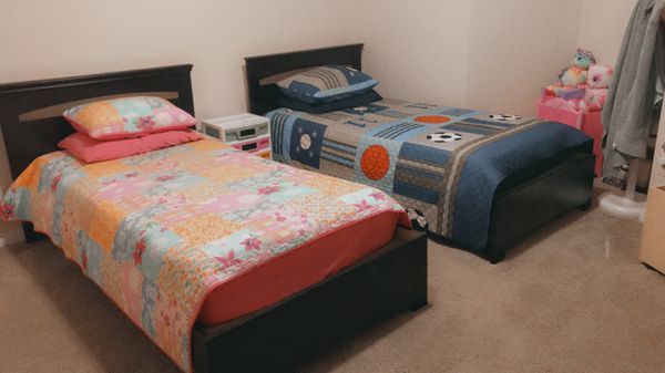 Toddler Beds (Twin Size) $150/each with mattress