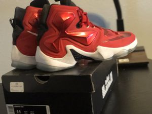 NIKE LEBRON 13 Size 11 Sneakers for Sale in Ruskin, FL