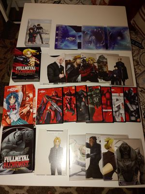 Full metal anime boxes only no dvds for Sale in Germantown, MD
