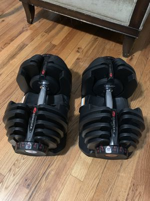 Used, Bow flex 10-90 Adjustable Dumbbells for Sale for sale  The Bronx, NY