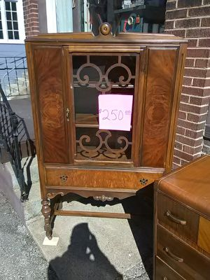 Antique china cabinet for Sale in Saltsburg, PA