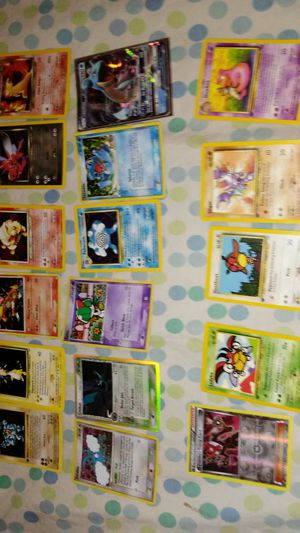 Pokemon Bundle(17 cards) for Sale in Chicago, IL