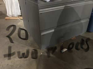 File cabinets (2 pieces - $20 each) for Sale in Bowie, MD